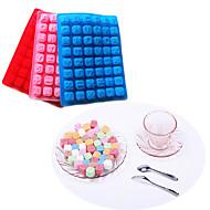 48 litera alfabetu tacy ciasto silikonowe formy do pieczenia czekolada kostki lodu (losowy kolor)