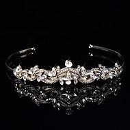 Dame / Blomsterpige Sterling Sølv / Legering Medaljon-Bryllup / Speciel Lejlighed Pandebånd / Blomster / Krans 1 Stykke Sølv Anderledes