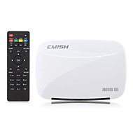 EMISH X700 Quad-Core RK3128 Android 4.4 Smart TV BOX  1G/8G, XBMC,Netflix,Youtube,Facebook,Skype