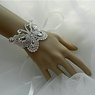 Wedding Flowers Hand-tied Wrist Corsages Wedding / Party/ Evening Lace