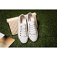 Women's Shoes 2015 Spring Summer New Shallow Mouth Leopard shoes White Black Canvas Student Flat
