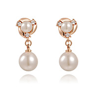 Drop Earrings Women's Fashion Noble Cubic Zirconia/Alloy Earring