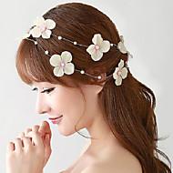 Mujer / Niña de flor Aleación / Perla Artificial / Tejido Celada-Boda / Ocasión especial / Al Aire Libre Flores 1 Pieza
