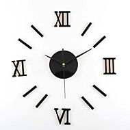אילם בית כיף אישיות יצירתית אופנה באיכות גבוהה חוזה שעון קיר דיגיטלי אקריליק תהליך האופנתי