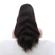 legkelendőbb 8 '' - 24 '' természetes egyenes szűz indiai Remy emberi haj paróka csipke első paróka a baba haja fekete nők számára