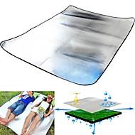 Double Aluminum film EVA Moisture-proof Pad Camping The Tent Pad Baby Crawling Sleep Picnic Mat