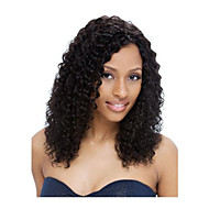 Hot Selling Unprocessed 10-30inch Kinky Curly Lace Front Wig & U Part Wig 100% Brazilian Human Hair For Women