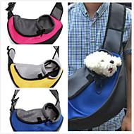 Gato Cachorro Tranportadoras e Malas frente Backpack Animais de Estimação Cestos Portátil Respirável Amarelo Vermelho Verde Azul