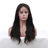7a klasse 8 '' - 24 '' naturlige straight Remy virgin indian menneskehår parykker blonder foran parykker med baby hår for sorte kvinder