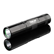 TanLu LED Flashlights/Torch / Handheld Flashlights/Torch LED 250 Lumens 3 Mode Cree Q5 18650 Adjustable Focus / Rechargeable