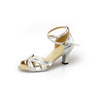 Zapatos de baile (Negro/Plata/Oro) - Danza latina - No Personalizable - Tacón de estilete