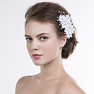 Women Organza Flowers With Multi-stone Wedding/Party Headpiece