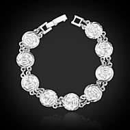 U7® Women's Islam Allah Bracelet 18K Real Gold/Platinum Plated Islamic Jewelry Gifts Link Chain Bracelet