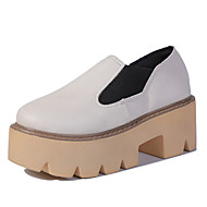 Women's Shoes Fashion New Platform Comfort Round Toe All Match Loafers