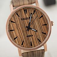 Unisex Watches European Style Vintage Wood Watch Waterproof Case Men And Women Watch Cool Watches Unique Watches Fashion Watch