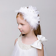 Flower Girl's Tulle Headpiece-Wedding / Special Occasion / Casual / Outdoor Fascinators 1 Piece Irregular