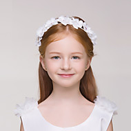 Flower Girl's Polyester Headpiece - Wedding/Special Occasion/Casual/Outdoor Headbands 1 Piece