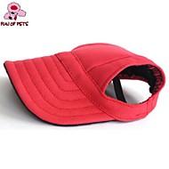 Gatos Cães Bandanas e Chapéus Vermelho Azul Preto Roupas para Cães Verão Primavera/Outono Cor Única Férias