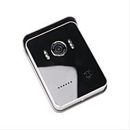 WiFi Video Doorphone Door Intercom Doorbell with Two Way Voice, Mobile Apps and Doorbell Button