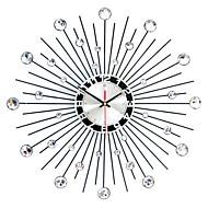"Modern/Contemporary Wall Clock,Round Iron 50 x 50 x 3(19.69"" x 19.69"" x 1.18"") Indoor Clock"