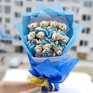 Teddy Bear Bouquet Valentine's Day Gift Wedding Bouquet