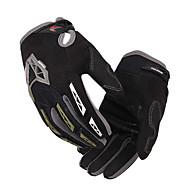 Motorcykel Handskar Helt finger Nylon/Lycra M/L/XL Svart/Blå