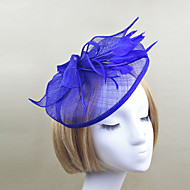 Women Feather/Net Fashion HatsFlowers With Wedding/Party Headpiece(More Colors)