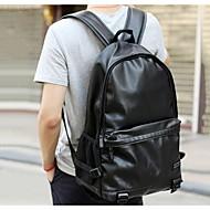 Men 's  Backpack - Brown/Black