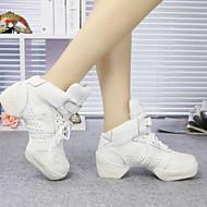 Sapatos de Dança (Preto / Branco) - Feminino / Masculino / Infantil - Não Personalizável - Tênis de Dança