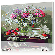 DIY Digital Oil Painting With Solid Wooden Frame Family Fun Painting All By Myself     Three 5119