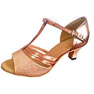 Customized Women's Dance Sandal Customized Heel Latin Salsa Dance Shoes