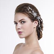 Kristallen Vrouwen Helm Bruiloft/Speciale gelegenheden/Casual Hoofdketting Bruiloft/Speciale gelegenheden/Casual 1 Stuk