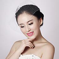 Women Net Birdcage Veils With Wedding/Party Headpiece