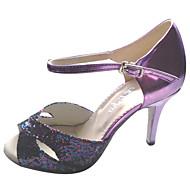 Latin Customized Women's Sandals Customized Heel Lady Dance Shoes
