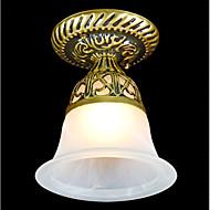 rubor bronze montar luz moiré de vidro europeu 220v clássico