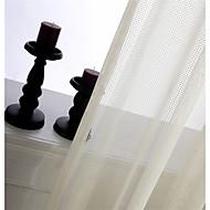 um painel de seleção marfim xadrez jacquard cortina cortina sheer