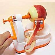 hoogwaardige creatieve handleiding roestvrij staal appel peeling machine (kleur random)