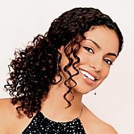 em estoque brasileiro virgem do cabelo humano 10-30inch dianteira do laço cacheados perucas 130 densidade peruca u parte para as mulheres