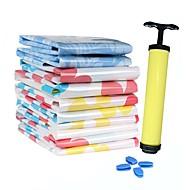 Sacos de Armazenamento Plástico comCaracterística é Sacos de Vácuo / Viagem , ParaRoupa-Interior / Tecido / Colchas Alcochoadas /