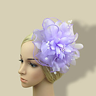 Women's Tulle/Fabric Headpiece - Wedding/Party Fashion Flowers 1 Piece