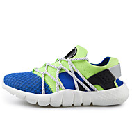 Running Men's Shoes Fabric/Tulle Black/Blue