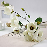 """33.5 """"h domácí dekorace hedvábné květiny, umělé magnólie."""