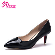 MeiRie'S Women's Shoes Faux Leather/Leatherette Stiletto Heel Heels/Pointed Toe/Closed Toe Heels Casual