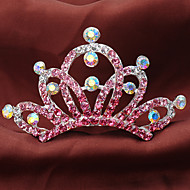 Flower Girl's Rhinestone/Alloy Headpiece - Special Occasion/Casual Tiaras 1 Piece