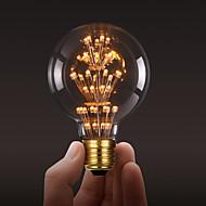 ecolight® Ecolite tm e27 3w conduziu lâmpada 3700k branco quente sotão retro bulbo estilo indústria edison lâmpada (AC220 ~ 265V