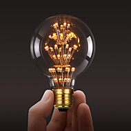ecolight® Ecolite tm E27 3W led-hehkulamppu 3700k lämmin valkoinen parvi retro teollisuus tyyli lamppu Edison lamppu (AC220 ~ 265V