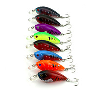 """8pcs יח ' כננת / פתיונות דיג כננת מבחר צבעים 9.8g g/1/3 אונקיה mm/2-3/4"""" אינץ ',פלסטיק קשיח דיג בים / דייג במים מתוקים / דיג בס"""