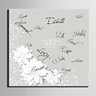Ramki na podpisy ( Kość słoniowa ) - Motyw Garden