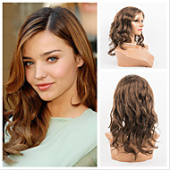 10''-26'' New Wet and Wavy Virgin Brazilian Hair Lace Front Wigs For Women