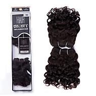 "EVET Peruvian Virgin Hair Water Wave Weave Bundles Wet And Wavy Peruvian Human Hair Extensions 2Pcs Lot 8"" 105g/lot"